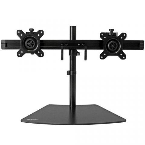 StarTech.com Soporte para 2 pantallas - horizontal - Color Negro