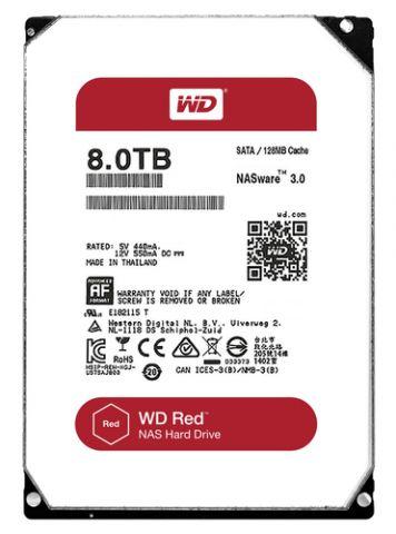 "Disco Duro Western Digital Red 3.5"" 8000 GB Serial ATA III"