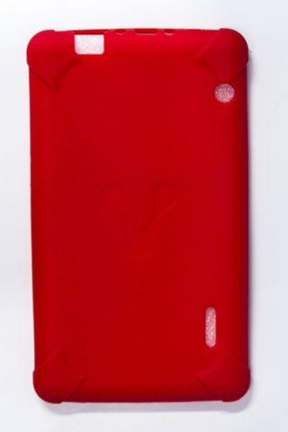 """Accesorios para tablet Vorago TC-124 17.8 cm (7"""") Funda Rojo"""