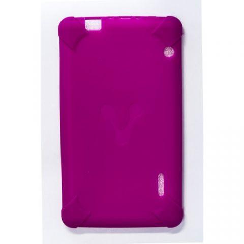 """Accesorios para tablet Vorago TC-124 17.8 cm (7"""") Funda Rosa"""