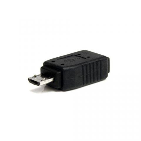Accesorios para Componente StarTech.com Adaptador Mini USB a Micro USB - 1x MicroUSB-B Macho - 1x MiniUSB-B Hembra