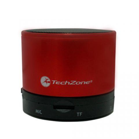 Bocina TECHZONE TZ15SPBT-R - Rojo, Inalámbrico y alámbrico TZ15SPBT-R