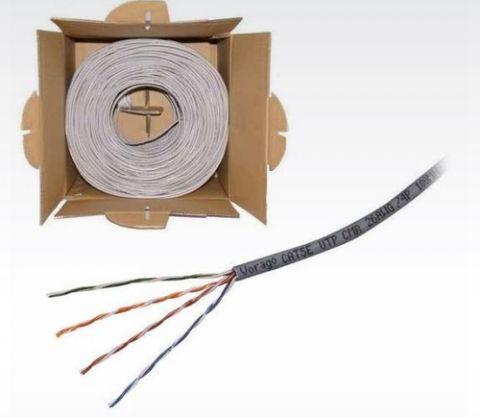 Accesorio Vorago CAB-207 cable de red Gris 305 m Cat5 U/UTP (UTP)