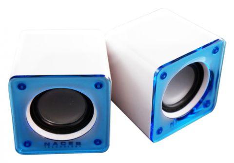 Bocina Naceb Technology NA-105 Azul, Blanco 6 W