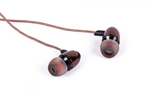 Accesorios para Electronica Naceb Technology NA-532 audífono y auriculare Auriculares Intra auditivo Conector de 3.5 mm Café