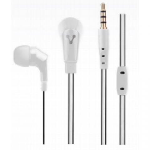 Accesorios para Electronica Vorago EP-103 Auriculares Intra auditivo Conector de 3.5 mm Blanco
