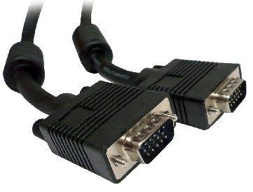 Cable VGA 1.8M M-M BROBOTIX - 1, 8 m, SVGA, SVGA, Negro 311706