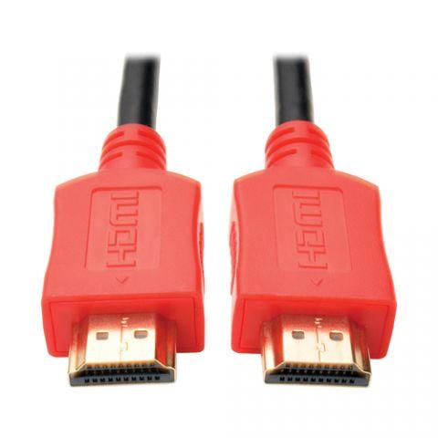 Accesorio Tripp Lite P568-003-RD Cable HDMI de Alta Velocidad, con Video Digital y Audio, Ultra Alta Definición 4K x 2K (M/M), Rojo, 0.91 m [3 pies]