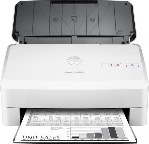 Escaner HP Scanjet Pro 3000 s3 Escáner alimentado con hojas 600 x 600 DPI A4 Blanco