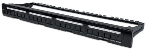 Intellinet 720427 panel de parcheo 1U
