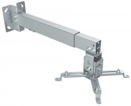 Soporte para Proyector MANHATTAN 461191 - 20 kg, Color blanco, Proyectores 461191