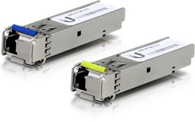 Transceptor Ubiquiti Networks UF-SM-1G-S módulo de red del transceptor Fibra óptica 1250 Mbit/s SFP 1550 nm