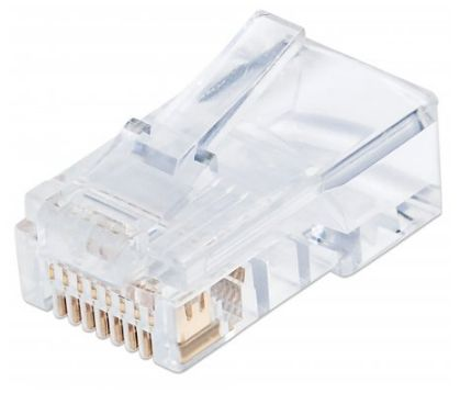 Adaptador para red Intellinet 790567 conector RJ-45 Transparente