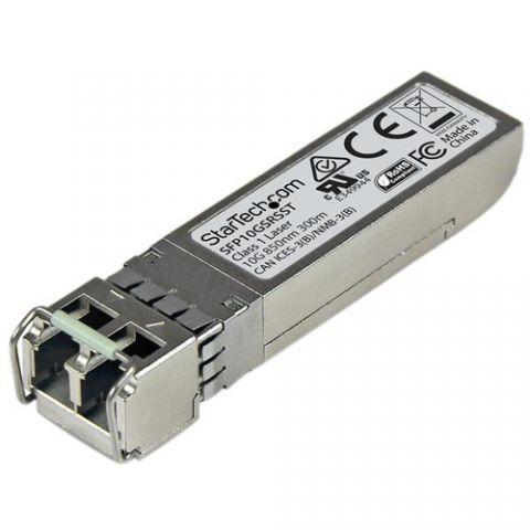 Transceptor StarTech.com Transceptor de Fibra SFP+ de 10Gb 10GBase-SR Compatible Cisco SFP-10G-SR-S Mini GBIC Multimodo LC 300m DDM