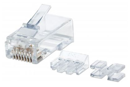 Adaptador para red Intellinet 790673 conector RJ-45 Transparente