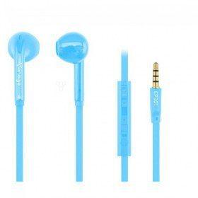 Accesorios para Electronica Vorago EP-201/A audífono y auriculare Auriculares Intra auditivo Azul