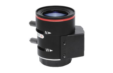 Provision-ISR 02812DCMP-3 lente de cámara Negro