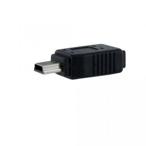 Accesorios para Componente StarTech.com Adaptador Micro USB a Mini USB - 1x MicroUSB-B Hembra - 1x MiniUSB-B Macho