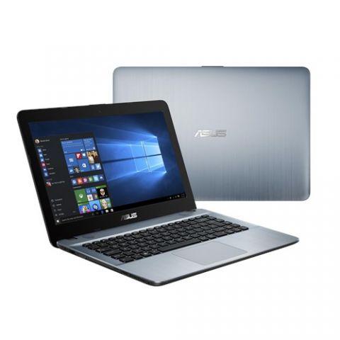 """Laptop ASUS VivoBook Max X441UA-WX086T laptop Computadora portátil 35.6 cm (14"""") 1366 x 768 Pixeles Intel® Core™ i3 de la sexta generación 4 GB DDR3-SDRAM 1000 GB Unidad de disco duro Wi-Fi 4 (802.11n) Windows 10 Plata"""
