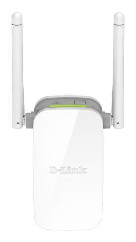 Access point D-Link N300 Repetidor de red Gris, Blanco 10, 100 Mbit/s
