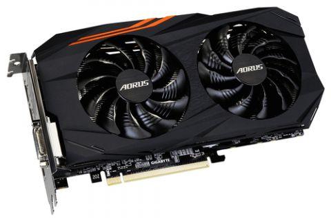 Tarjeta gráfica Gigabyte GV-RX570AORUS-4GD tarjeta gráfica AMD Radeon RX 570 4 GB GDDR5