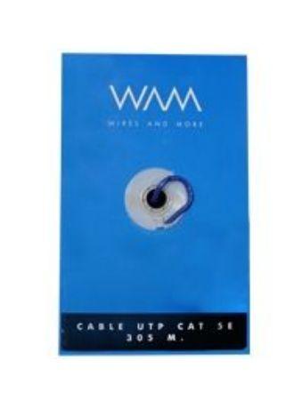Accesorio WAM CAT5E-AZUL cable de red 305 m