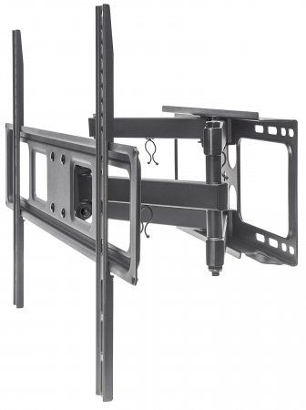 "Soporte Universal de Pared para TV MANHATTAN con Movimiento Completo - 40 kg, Acero, 37"", 70"", Monitor de ordenador/TV 461351"