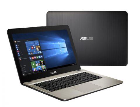 "Laptop ASUS A441NA-GA138T Computadora portátil 35.6 cm (14"") 1366 x 768 Pixeles Intel® Celeron® 4 GB DDR3-SDRAM 128 GB SSD Wi-Fi 4 (802.11n) Windows 10 Negro, Chocolate"