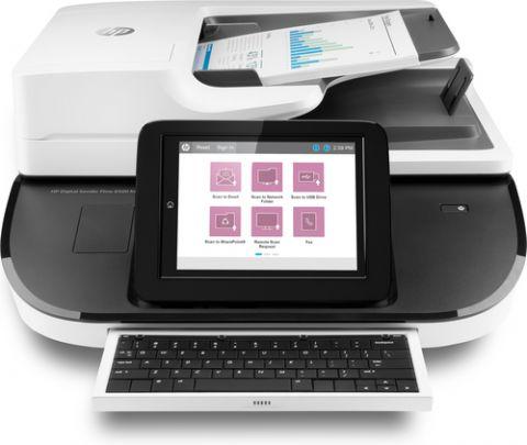 Escaner HP Estación de trabajo para captura de documentos Digital Sender Flow 8500 fn2