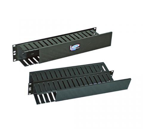 Organizador horizontal NORTH SYSTEM - Acero al carbón, Negro, 0, 93 kg, 7, 62cm NORTH109-BKL