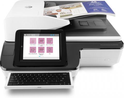 Escaner HP Scanjet Enterprise Flow N9120 fn2 Escáner de base plana y ADF 600 x 600 DPI A3 Negro, Blanco
