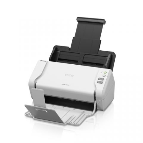 Escaner Brother ADS-2200 escáner Escáner con alimentador automático de documentos (ADF) 600 x 600 DPI A4 Negro, Blanco