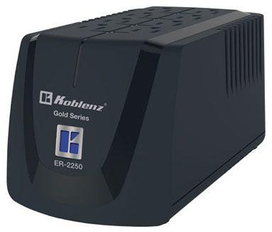 Regulador Koblenz ER-2250 2250 VA 1000 W 8 salidas AC