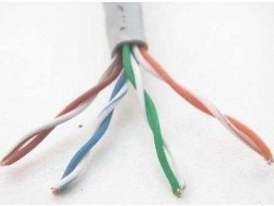 Accesorio WAM CAT5e-OUTDOOR-GRIS cable de red 305 m U/UTP (UTP)