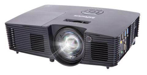 Proyector Infocus IN112XV video proyector Proyector para escritorio 3400 lúmenes ANSI DLP SVGA (800x600) Negro