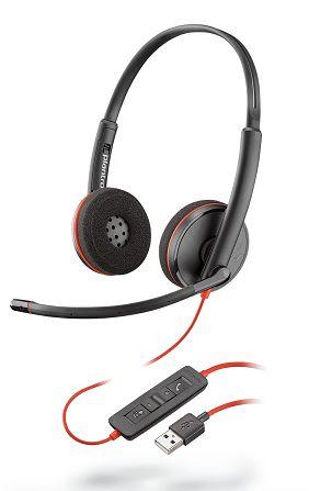 Accesorios para Electronica POLY Blackwire 3220 Auriculares Diadema Negro
