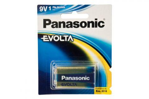 Pilas Alcalina Panasonic 6LR61EGL/1B pila de uso doméstico Batería de un solo uso Alcalino