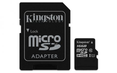 Kingston Technology Canvas Select memoria flash 16 GB MicroSDHC UHS-I Clase 10
