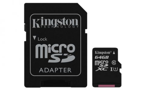 Kingston Technology Canvas Select memoria flash 64 GB MicroSDXC UHS-I Clase 10