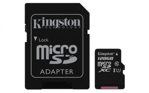 Kingston Technology Canvas Select memoria flash 128 GB MicroSDXC UHS-I Clase 10