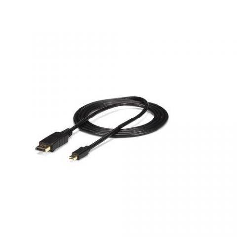 Accesorio StarTech.com Cable de 3m Adaptador de Mini DisplayPort 4k 1.2 Macho a DisplayPort Macho- Negro