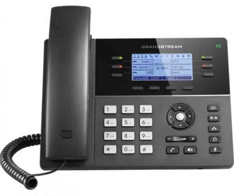 Grandstream Networks GXP1760W teléfono Teléfono DECT Identificador de llamadas Negro