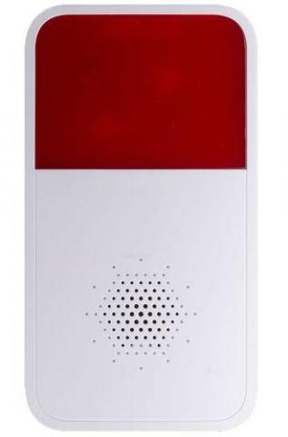 Dahua Technology DHI-ARA10-W sirena Sirena inalámbrica Interior / exterior Rojo, Blanco
