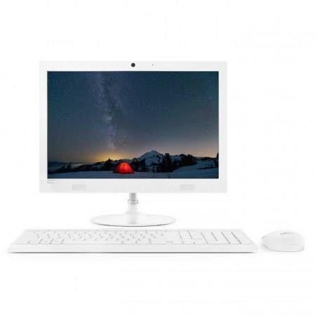 "All in One Lenovo IdeaCentre 330 49.5 cm (19.5"") 1440 x 900 Pixeles 7th Generation AMD A6-Series APUs 4 GB DDR4-SDRAM 1000 GB Unidad de disco duro Windows 10 Home Wi-Fi 5 (802.11ac) PC todo en uno Blanco"