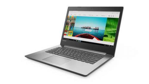 "Laptop Lenovo IdeaPad 320 Computadora portátil 35.6 cm (14"") 1366 x 768 Pixeles Intel® Core™ i5 de la séptima generación 4 GB DDR4-SDRAM 1000 GB Unidad de disco duro Windows 10 Home Gris, Platino"