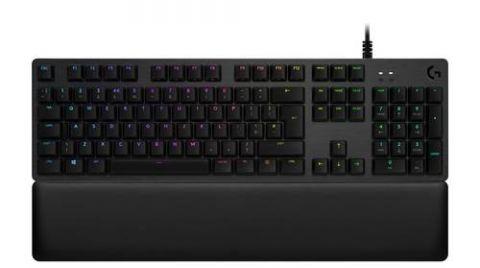 Teclado Gaming LOGITECH G513 CARBON - USB, QWERTY, Inglés, Negro, Multicolor 920-008860