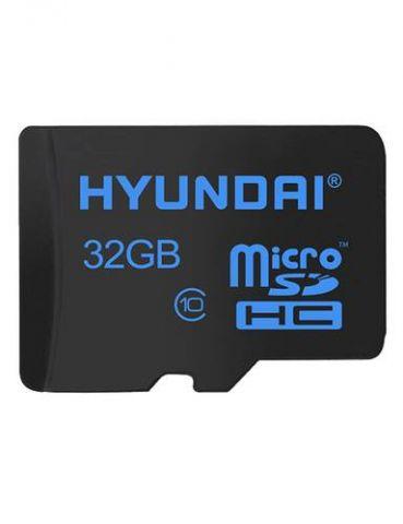 Memoria Micro SD HYUNDAI SDC32GU1 - 32 GB, Negro, Clase 10 SDC32GU1