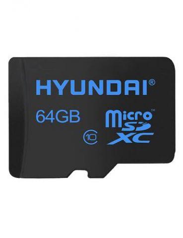 Memoria Micro SD HYUNDAI SDC64GU1 - 64 GB, Negro, Clase 10 SDC64GU1