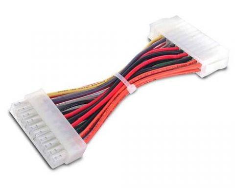 Accesorio StarTech.com Cable de 15cm Adaptador de Fuente de Poder ATX 20 a 24 Pin - Convertidor de Placa Madre Macho a Hembra