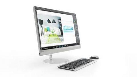 """All in One Lenovo IdeaCentre 520 54.6 cm (21.5"""") 1920 x 1080 Pixeles Intel® Core™ i5 de la séptima generación 8 GB DDR4-SDRAM 1000 GB Unidad de disco duro Windows 10 Home Wi-Fi 5 (802.11ac) PC todo en uno Plata"""